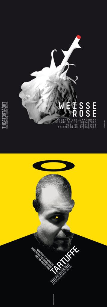 Bundi Weisse Rose und Tartuffe