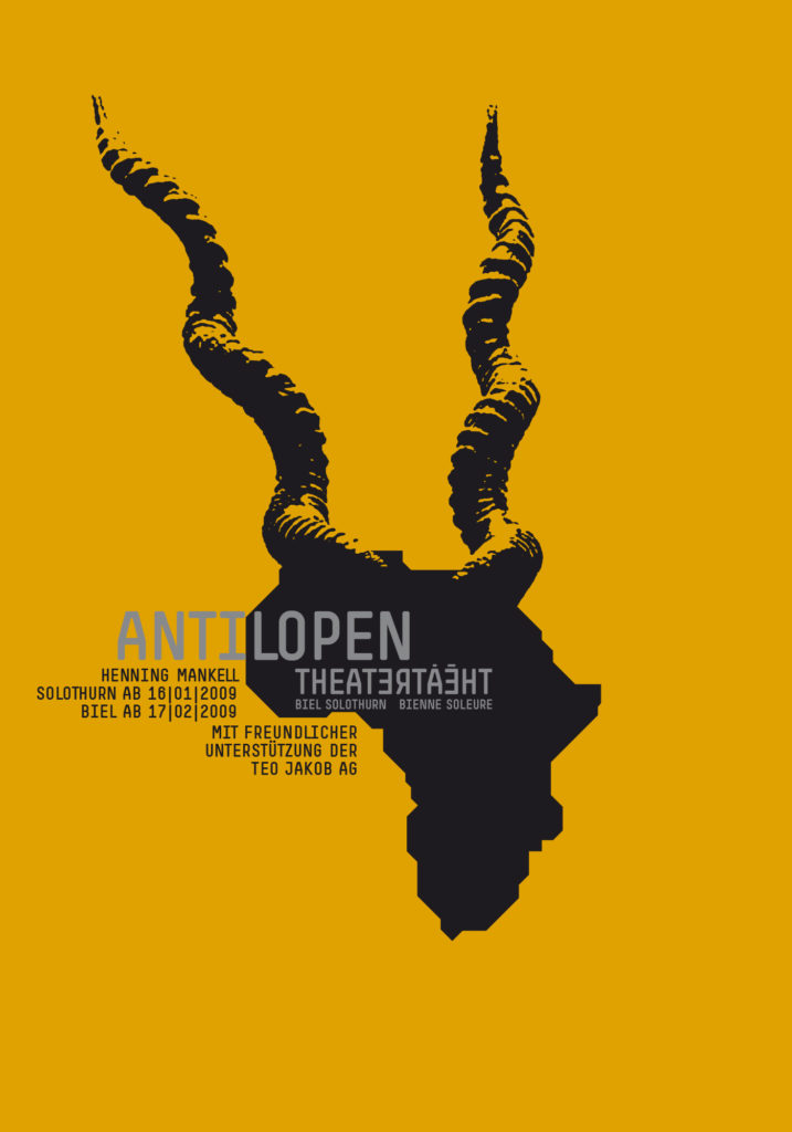 TBS Antilopen Poster