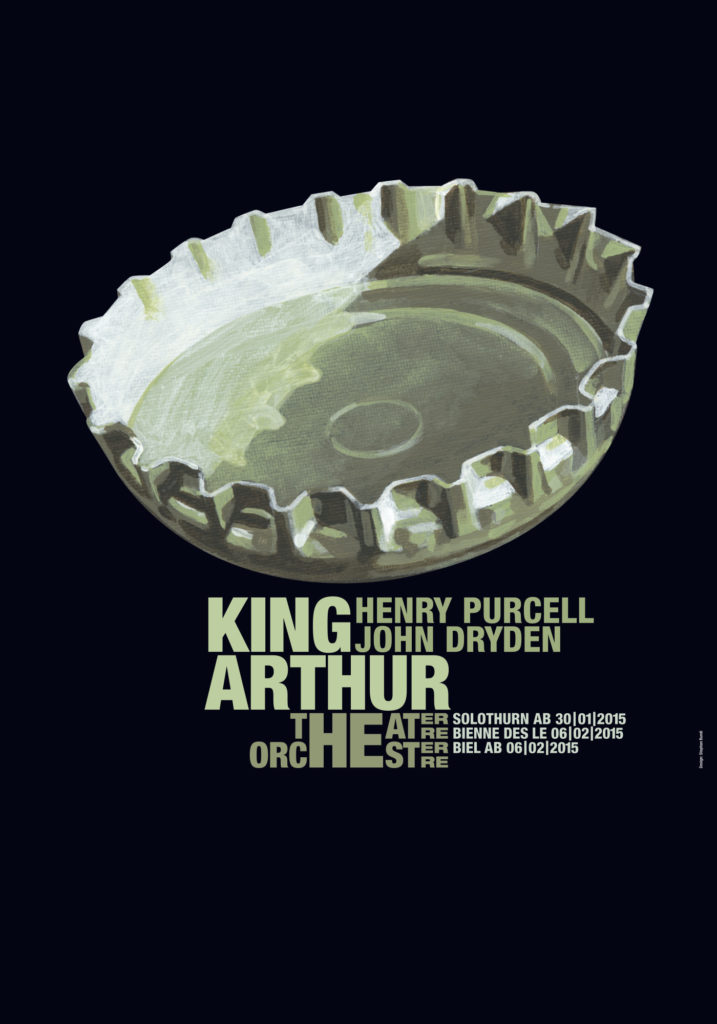 Bundi King Arthur Poster