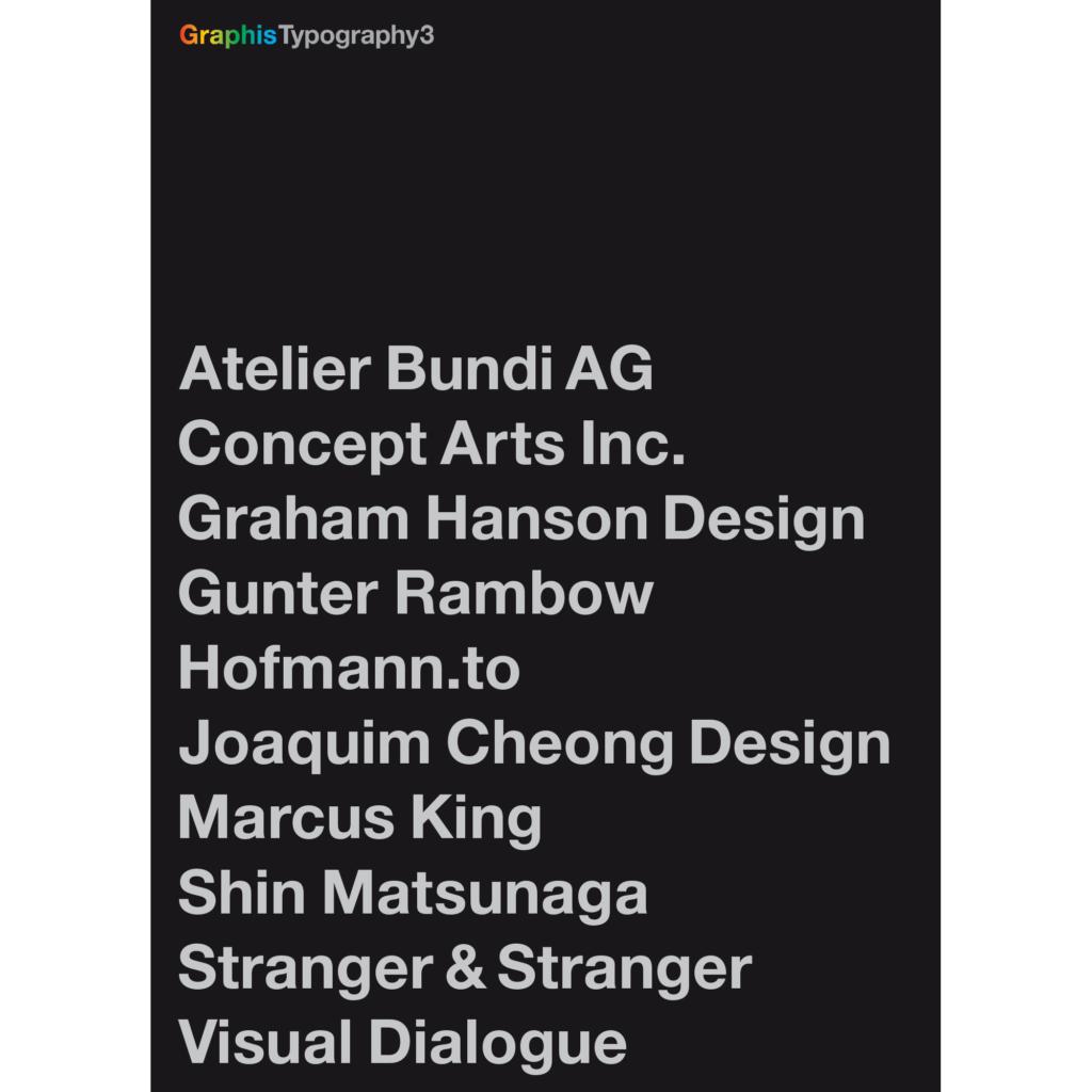 Graphis Typography Titel 2000